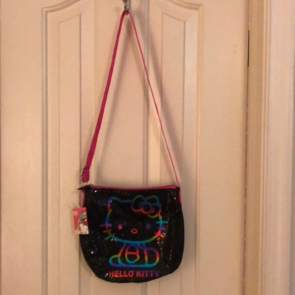 e6aa8534b Hello Kitty Accessories | Rainbow Sequined Purse Nwt | Poshmark